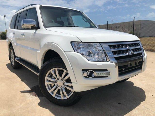 Used Mitsubishi Pajero NX MY19 GLS, 2019 Mitsubishi Pajero NX MY19 GLS White 5 Speed Sports Automatic Wagon