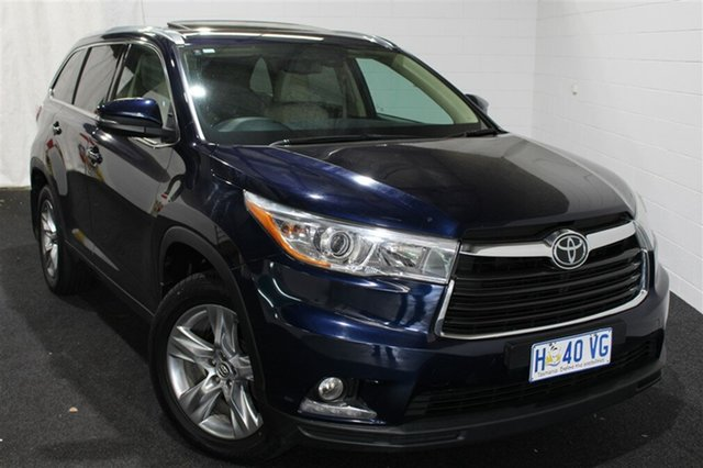 Used Toyota Kluger GSU55R Grande AWD, 2016 Toyota Kluger GSU55R Grande AWD Blue 6 Speed Sports Automatic Wagon