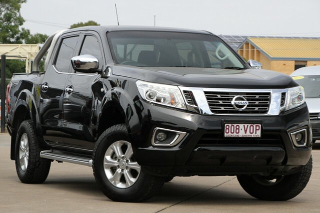 Used Nissan Navara D23 ST, 2015 Nissan Navara D23 ST Black 7 Speed Sports Automatic Utility