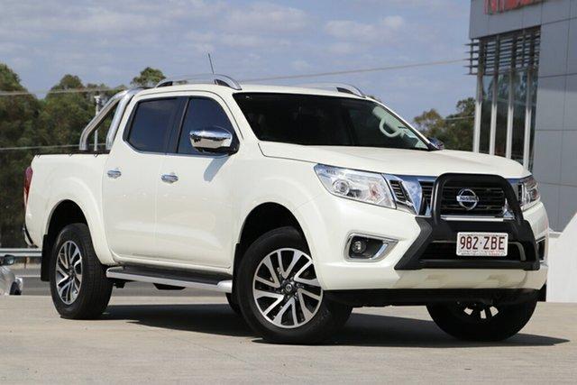 Demo Nissan Navara D23 S3 ST-X, 2018 Nissan Navara D23 S3 ST-X White Diamond 7 Speed Sports Automatic Utility