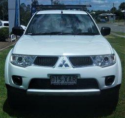 2012 Mitsubishi Challenger White Sports Automatic Wagon.