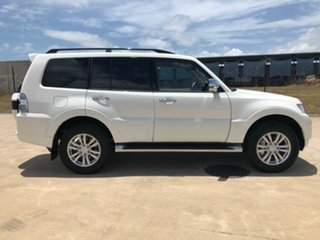 2019 Mitsubishi Pajero NX MY19 GLS White 5 Speed Sports Automatic Wagon.