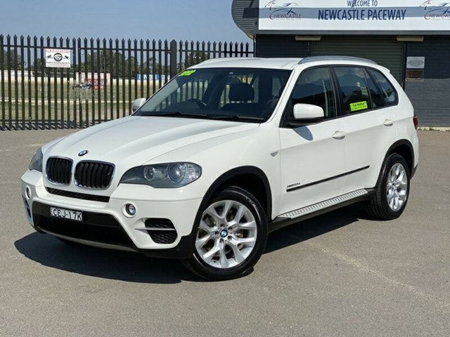 Used BMW X5 E70 MY12 xDrive30d Steptronic, 2011 BMW X5 E70 MY12 xDrive30d Steptronic White 8 Speed Sports Automatic Wagon