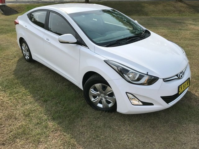 Used Hyundai Elantra MD3 Active, 2014 Hyundai Elantra MD3 Active Silver 6 Speed Sports Automatic Sedan