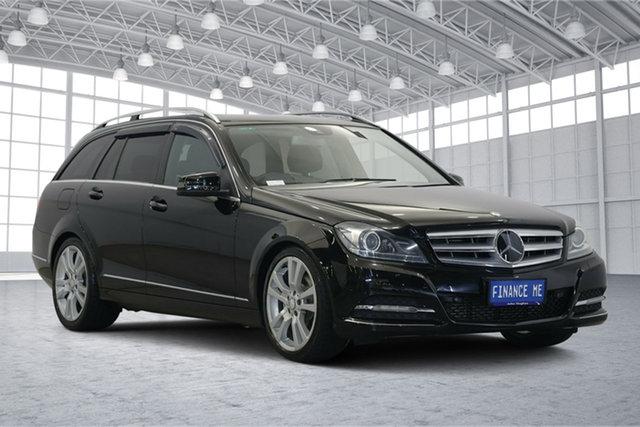 Used Mercedes-Benz C-Class W204 MY11 C250 BlueEFFICIENCY Estate 7G-Tronic + Elegance, 2011 Mercedes-Benz C-Class W204 MY11 C250 BlueEFFICIENCY Estate 7G-Tronic + Elegance Black 7 Speed