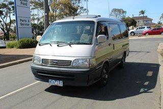 1994 Toyota HiAce Super Custom Brown Automatic Van.