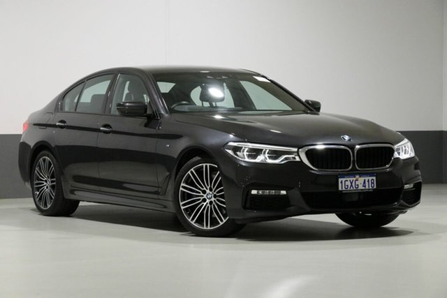 Used BMW 530i G30 MY18 M Sport, 2018 BMW 530i G30 MY18 M Sport Sophisto Grey 8 Speed Automatic Sedan