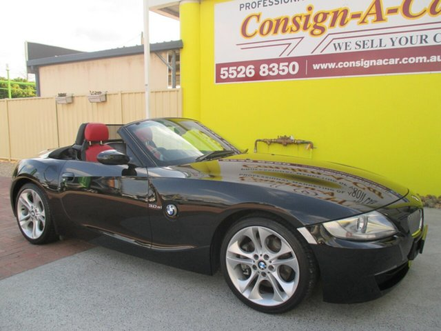 Used BMW Z4 E85 MY07 Steptronic, 2006 BMW Z4 E85 MY07 Steptronic Black 6 Speed Sports Automatic Roadster