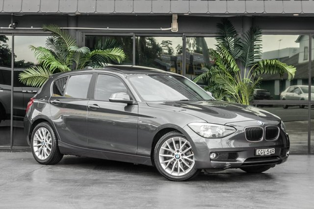 Used BMW 118i F20 118i, 2012 BMW 118i F20 118i Grey 8 Speed Sports Automatic Hatchback