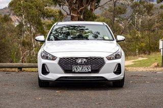 2018 Hyundai i30 PD2 MY19 Active Polar White 6 Speed Sports Automatic Hatchback