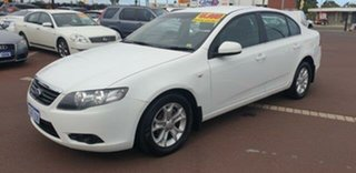 2011 Ford Falcon FG MkII XT White 6 Speed Sports Automatic Sedan