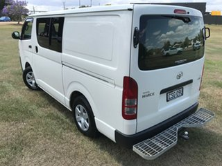 2014 Toyota HiAce KDH201R MY14 LWB French Vanilla 4 Speed Automatic Van