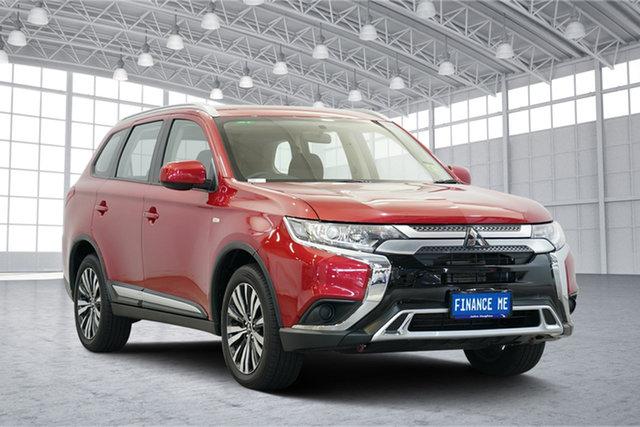 Used Mitsubishi Outlander ZL MY19 ES AWD, 2019 Mitsubishi Outlander ZL MY19 ES AWD Red 6 Speed Constant Variable Wagon