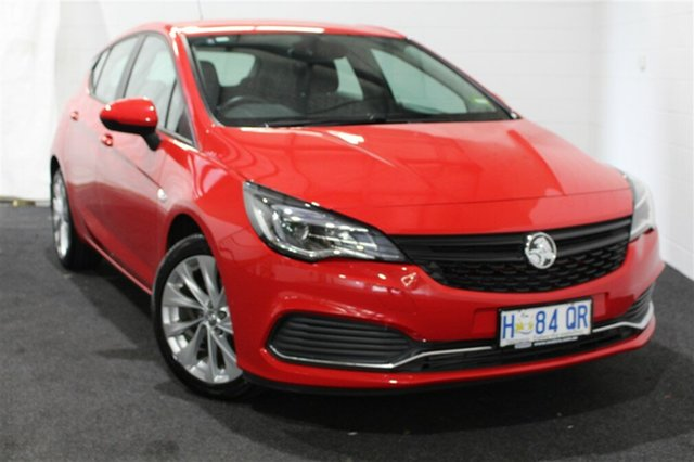 Used Holden Astra BK MY18.5 R, 2018 Holden Astra BK MY18.5 R Absolute Red 6 Speed Sports Automatic Hatchback