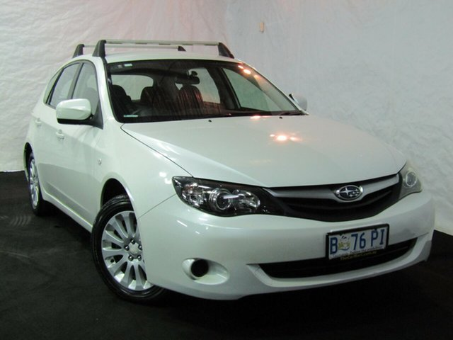 Used Subaru Impreza G3 MY10 RS AWD, 2010 Subaru Impreza G3 MY10 RS AWD White 5 Speed Manual Hatchback