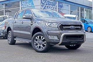 2017 Ford Ranger PX MkII Wildtrak Double Cab Grey 6 Speed Sports Automatic Utility.