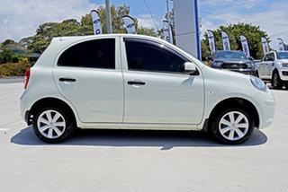 2011 Nissan Micra K13 ST White 5 Speed Manual Hatchback