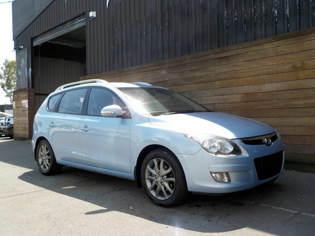 Used Hyundai i30 FD MY11 SX cw Wagon, 2012 Hyundai i30 FD MY11 SX cw Wagon Blue 4 Speed Automatic Wagon