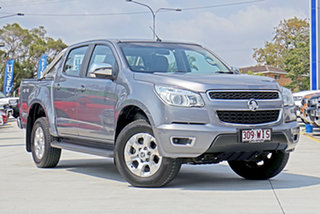 2015 Holden Colorado RG MY15 LTZ Crew Cab Grey 6 Speed Sports Automatic Utility.