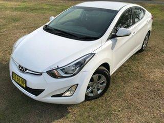 2014 Hyundai Elantra MD3 Active Silver 6 Speed Sports Automatic Sedan.
