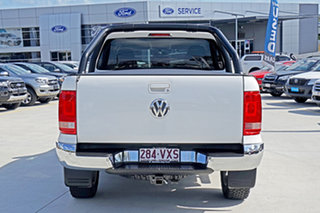 2015 Volkswagen Amarok 2H MY15 TDI420 4Motion Perm Highline Candy White 8 Speed Automatic Utility