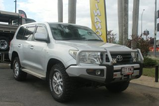 2007 Toyota Landcruiser UZJ200R GXL Silver 5 Speed Sports Automatic Wagon.