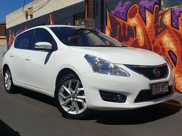 Used Nissan Pulsar C12 ST-S, 2013 Nissan Pulsar C12 ST-S Polar White 6 Speed Manual Hatchback