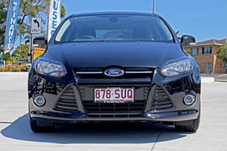 2012 Ford Focus LW MkII Sport PwrShift Panther Black 6 Speed Sports Automatic Dual Clutch Hatchback.