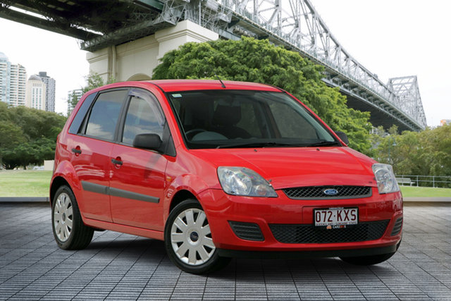 Used Ford Fiesta WQ LX, 2008 Ford Fiesta WQ LX Red/Black 4 Speed Automatic Hatchback