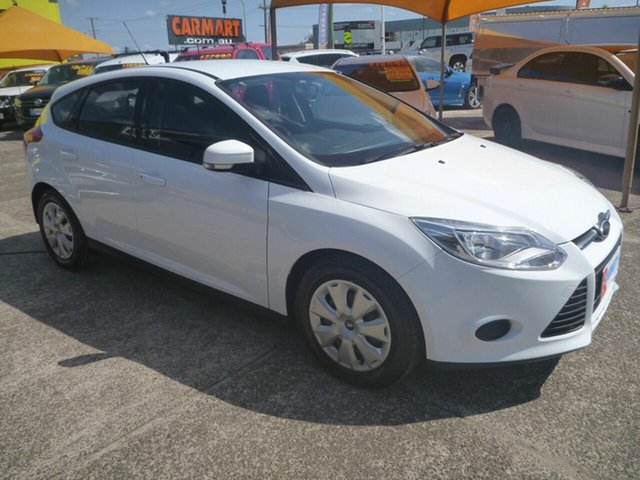 Used Ford Focus LW MkII MY14 Ambiente PwrShift, 2014 Ford Focus LW MkII MY14 Ambiente PwrShift White 6 Speed Sports Automatic Dual Clutch Hatchback