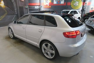 2013 Audi A3 8P MY13 Ambition Sportback S Tronic Silver 7 Speed Sports Automatic Dual Clutch