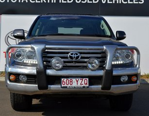 2012 Toyota Landcruiser VDJ200R MY12 Sahara (4x4) Graphite 6 Speed Automatic Wagon