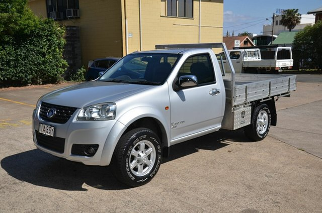 Used Great Wall V200 K2 (4x4), 2012 Great Wall V200 K2 (4x4) Silver 6 Speed Manual Cab Chassis