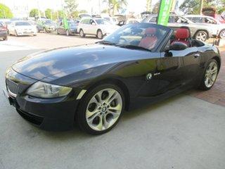 2006 BMW Z4 E85 MY07 Steptronic Black 6 Speed Sports Automatic Roadster.