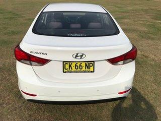 2014 Hyundai Elantra MD3 Active Silver 6 Speed Sports Automatic Sedan
