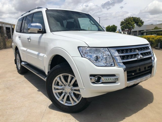 Used Mitsubishi Pajero NX MY19 GLX, 2019 Mitsubishi Pajero NX MY19 GLX White 5 Speed Sports Automatic Wagon