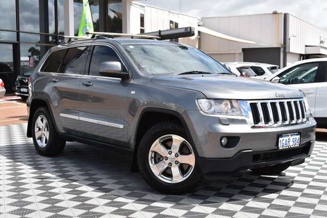 Used Jeep Grand Cherokee WK MY2012 Laredo, 2012 Jeep Grand Cherokee WK MY2012 Laredo Grey 5 Speed Sports Automatic Wagon