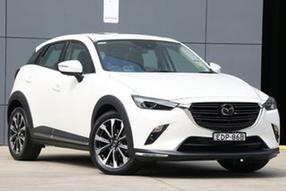 2019 Mazda CX-3 DK2W7A Akari SKYACTIV-Drive FWD Snowflake White 6 Speed Sports Automatic Wagon