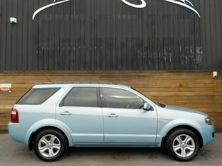 2009 Ford Territory SY MkII TX AWD Silver 6 Speed Sports Automatic Wagon.