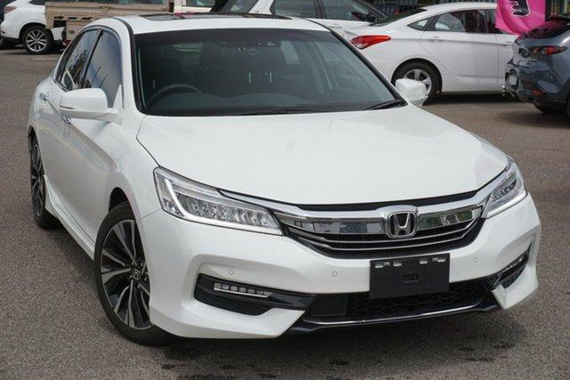 Used Honda Accord 9th Gen MY18 V6L, 2019 Honda Accord 9th Gen MY18 V6L White 6 Speed Sports Automatic Sedan