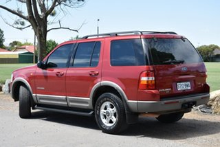 2002 Ford Explorer UT XLT Red 5 Speed Automatic Wagon.