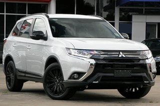 2020 Mitsubishi Outlander ZL MY21 Black Edition 2WD Starlight 6 Speed Constant Variable Wagon.