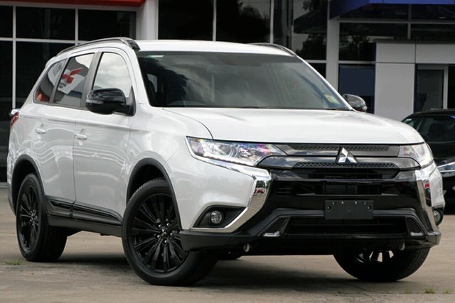 New Mitsubishi Outlander ZL MY21 Black Edition 2WD Hamilton, 2020 Mitsubishi Outlander ZL MY21 Black Edition 2WD Starlight 6 Speed Constant Variable Wagon