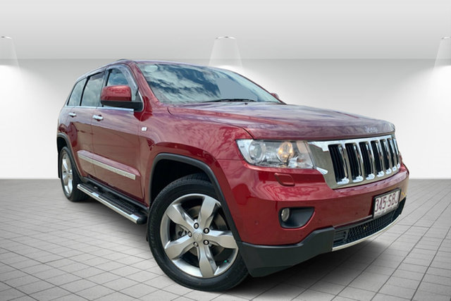 Used Jeep Grand Cherokee WK MY2011 Limited, 2011 Jeep Grand Cherokee WK MY2011 Limited Red 5 Speed Sports Automatic Wagon