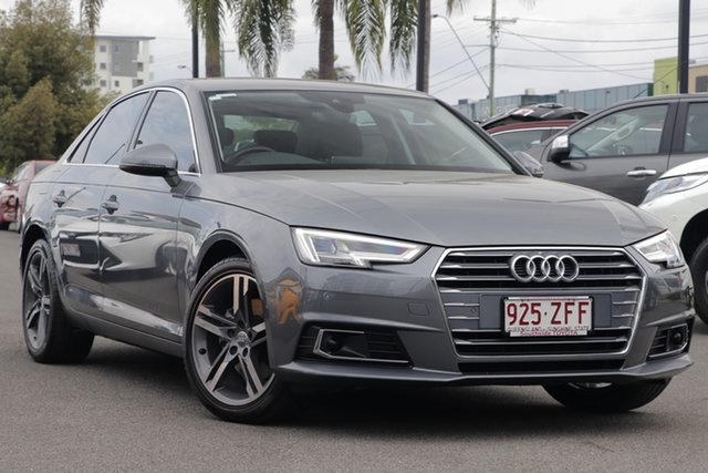 Used Audi A4 B9 8W MY17 Sport S Tronic, 2016 Audi A4 B9 8W MY17 Sport S Tronic Monsoon Grey 7 Speed Sports Automatic Dual Clutch Sedan