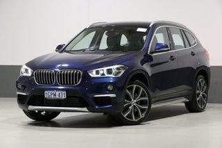2018 BMW X1 F48 MY18 xDrive 25I Blue 8 Speed Automatic Wagon.