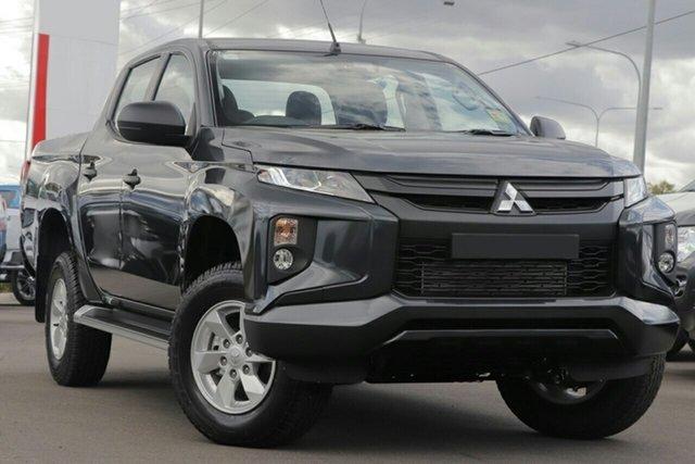 New Mitsubishi Triton MR MY20 GLX (4x4), 2020 Mitsubishi Triton MR MY20 GLX (4x4) Graphite Grey 6 Speed Manual Double Cab Pickup
