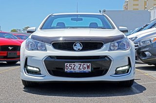 2016 Holden Ute VF II MY16 SV6 Ute White 6 Speed Sports Automatic Utility.