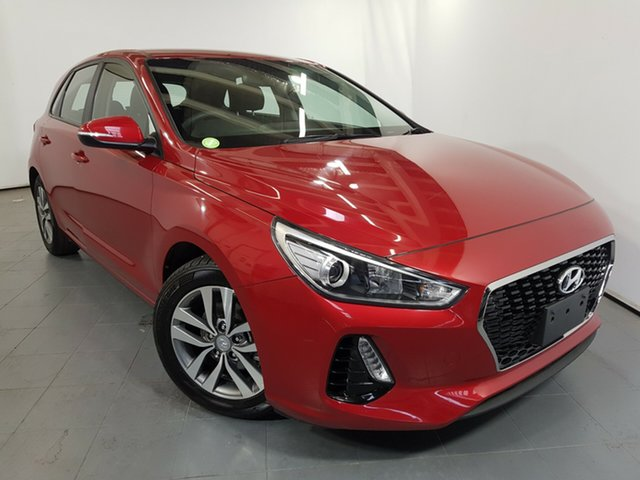 Used Hyundai i30 PD MY18 Active, 2017 Hyundai i30 PD MY18 Active Scarlet Red 6 Speed Sports Automatic Hatchback
