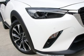 2019 Mazda CX-3 DK2W7A Akari SKYACTIV-Drive FWD Snowflake White 6 Speed Sports Automatic Wagon.